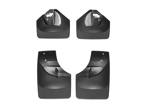 2015 - 2020 Ford Transit 4pc Front & Rear Mud Flap Set-  No-Drill DigitalFit® * see product description for correct fit