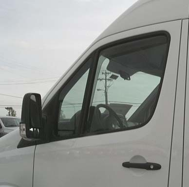 2019 - 2020 Sprinter Wind & Rain Deflectors - Free Shipping!
