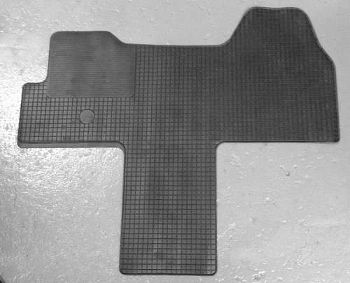 1 Piece Front Rubber Mat for 2014 - 2020 Ram ProMaster - heavy duty Made in Germany