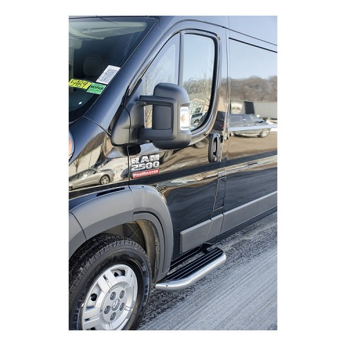 2014 - 2020 Ram ProMaster Mega Stainless Cab Step set - two 36