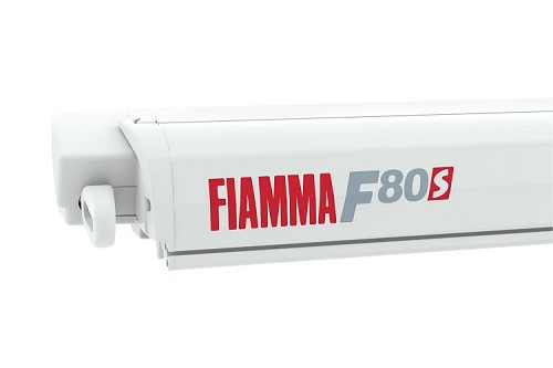 Fiamma F80S Awning with Polar White Case 3.2m (10'6