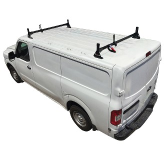 H1 Aluminum 2 Bar Roof Rack System for 2012 - 2021 Nissan NV Full Size