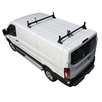 2015 - 2021 Ford Transit H1 2 Bar Aluminum Low Profile Roof Rack System