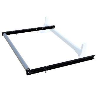 Roller System for H1 Ladder Rack 57 inch roller 36 inch extenion - choose white or black finish