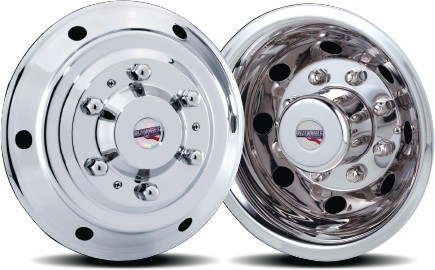 2001 - 2006 Sprinter 3500 Set of 4 Stainless Wheel Simulators for 15 inch Wheels* B stock all sales final