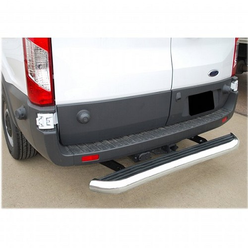 2007 - 2020 Sprinter Mega Stainless Steel 54 inch Rear Step *see notes for correct fit